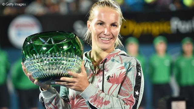 Kuznetsova's Dream Day In Sydney