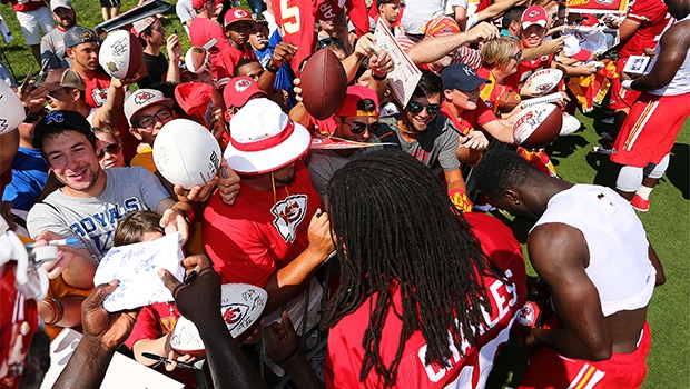 Chiefs to Host Special Social Media Day on Friday at Training Camp presented ...