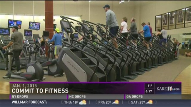Commitment to fitness in 2016