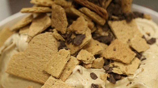 S'mores For National Ice Cream Month