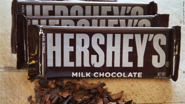 No Kisses for Hershey on National Chocolate Day