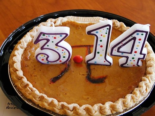 Pi Day can be sliced in many ways, 3/14