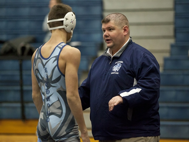 Day points to Richmond for statewide wrestling award