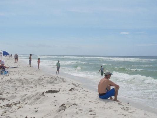 Summer beach fun in Pensacola