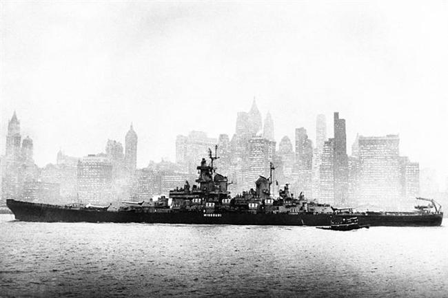 Navy Day in New York, 1945