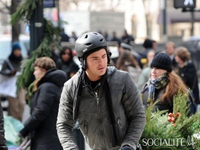 It's National Go For A Ride Day! Check Out Celebrities On Bikes…Including Zac ...