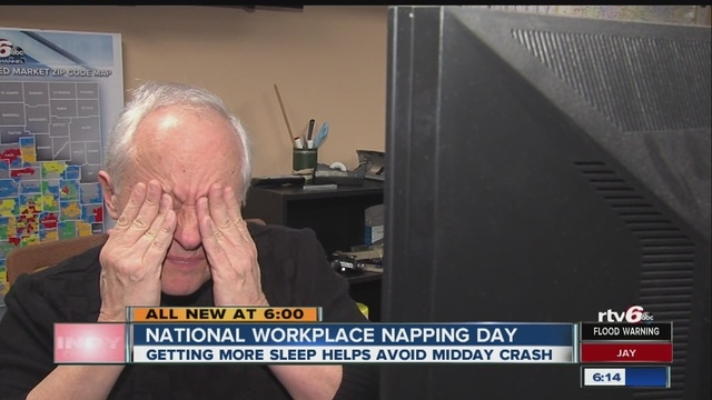 Did you celebrate National Workplace Napping Day?