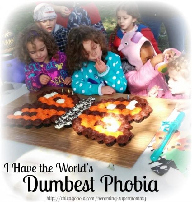 I have the world's dumbest phobia