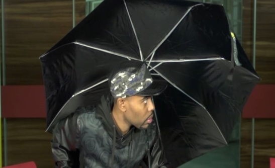 'Ain't That America' Host Lil Duval Celebrates National Open An Umbrella ...
