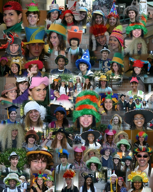 Beards and Kisses show off creativity of Hat Day at St. Francis Academy