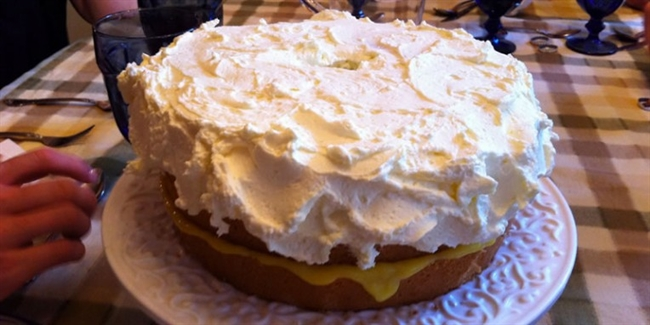 Lemon Chiffon Cake Day