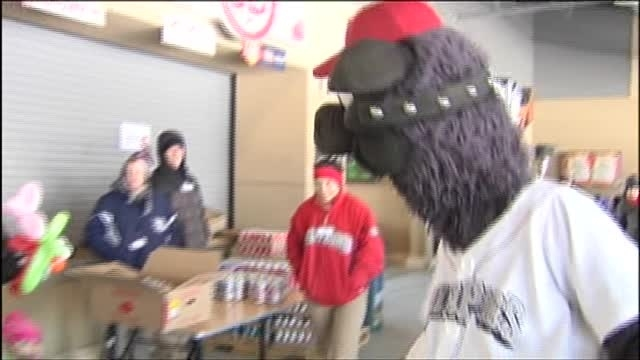 The Lehigh Valley Iron Pigs celebrate National Pig Day at Coca-Cola Park