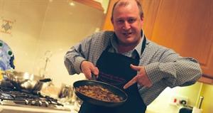 Men Make Dinner Day