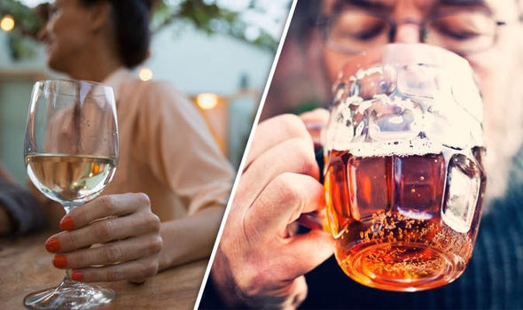 Men are told to drink ONLY three halves of beer a day