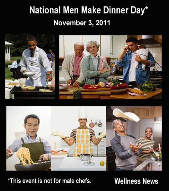 10 reasons to celebrate 'Men Make Dinner Day'