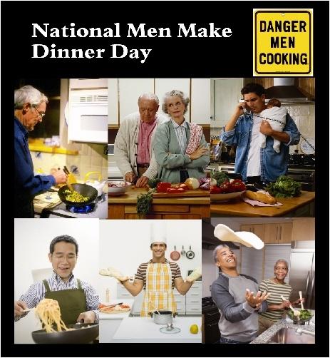 Today Is National Men Make Dinner Day
