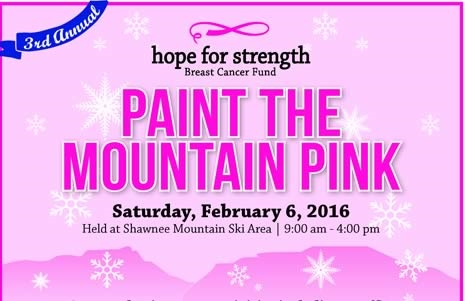The 3rd Annual Paint the Mountain Pink day benefits the Hope for Strength ...