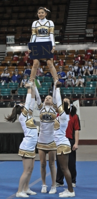 Univ. of Memphis Cheerleaders talk about safety