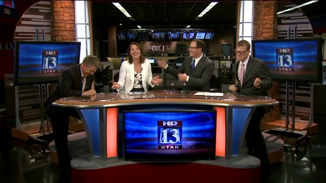 FOX 13 anchor desk channels their inner Katy Perry for rendition of 'Firework'