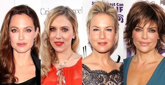 Lips Appreciation Day: Angelina Jolie, Lisa Rinna and More Pucker Up!