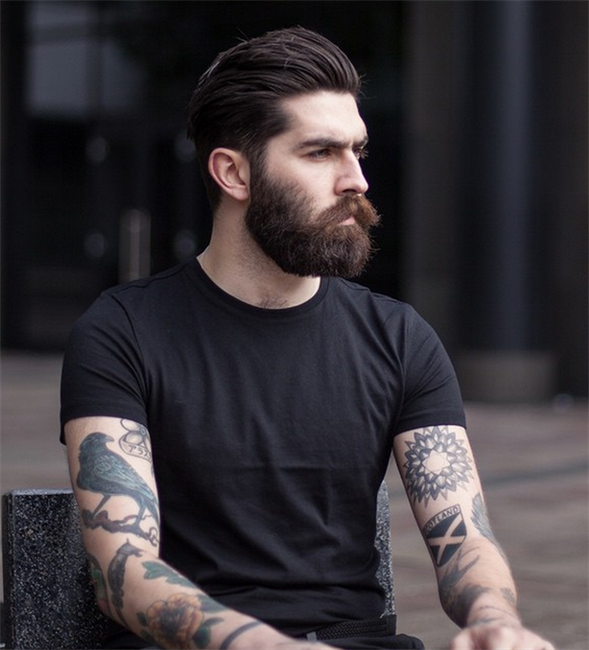 World Beard Day: Scots model Christopher Millington is famous worldwide for ...