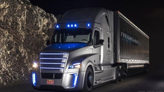 Self-Driving Truck Hits The Highways For a Test Drive!