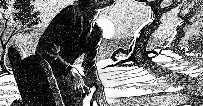 Howl At The Moon Day: Where in Britain has the most werewolves?